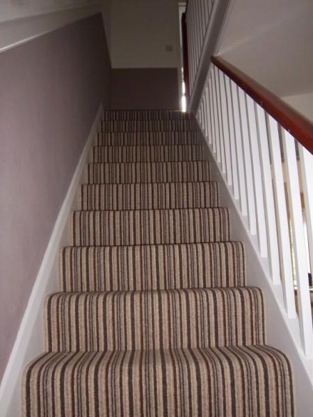 08 Wool Stripe Carpet; 09 Stripe On Stairs