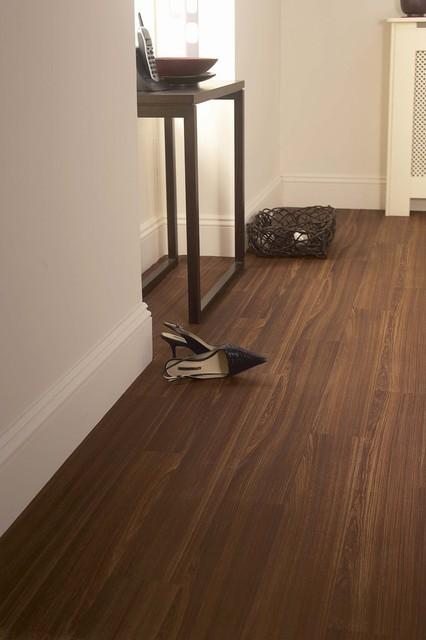 Linoleum Dark Wood Flooring