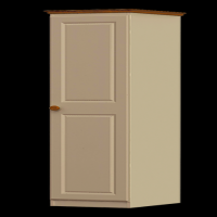 22    Single Wardrobe H188cm W40cm D53cm