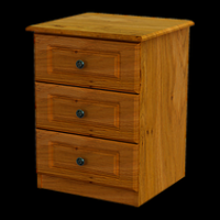 04   Locker 3Drawer H61cm W43cm D40cm