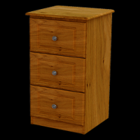 05   Locker 3Deep Drawer H80cm W43cm D40cm