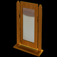 18    Single Square Mirror H47cm W51cm D18cm