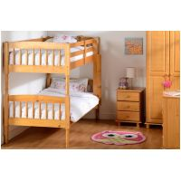 04-WB- Pine Albany Bunk Bed