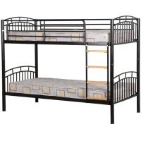 08-WB- BUNK BED in Black or Silver