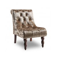 16 GI Ashley Velvet Chair- Mink