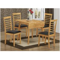 11- Square drop leaf dining set
