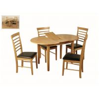 12- Oval Butterfly Dining Set