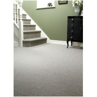23 Stripe with matching Plain Carpet