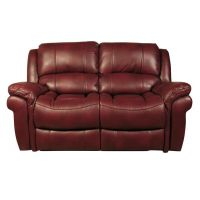 03a  Burgandy 2 Seater Recliner