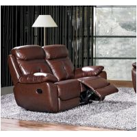 2  Seater  Recliner or Fixed in Chestnut Brown