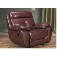 Chair  Recliner or Fixed in Chestnut Brown